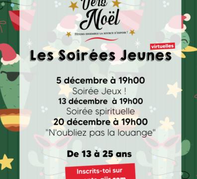 En Route Vers Noël : Les Soirées Jeunes !